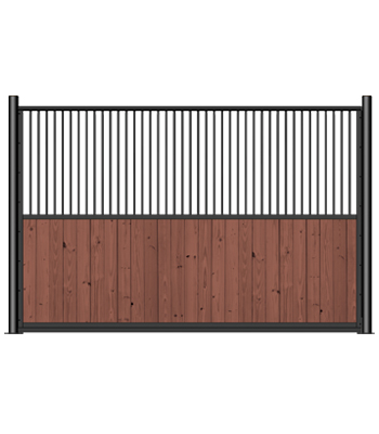 Nobleman Stall Grilled Partition